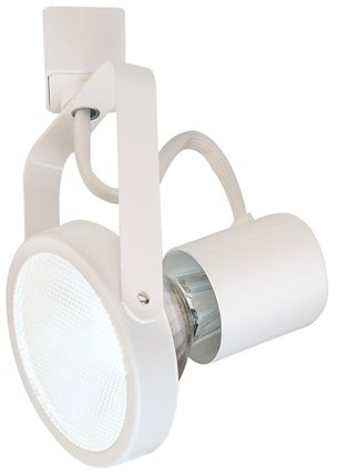 Nora Lighting Nth 107 White Gimbal Ring Track Light Nth 107