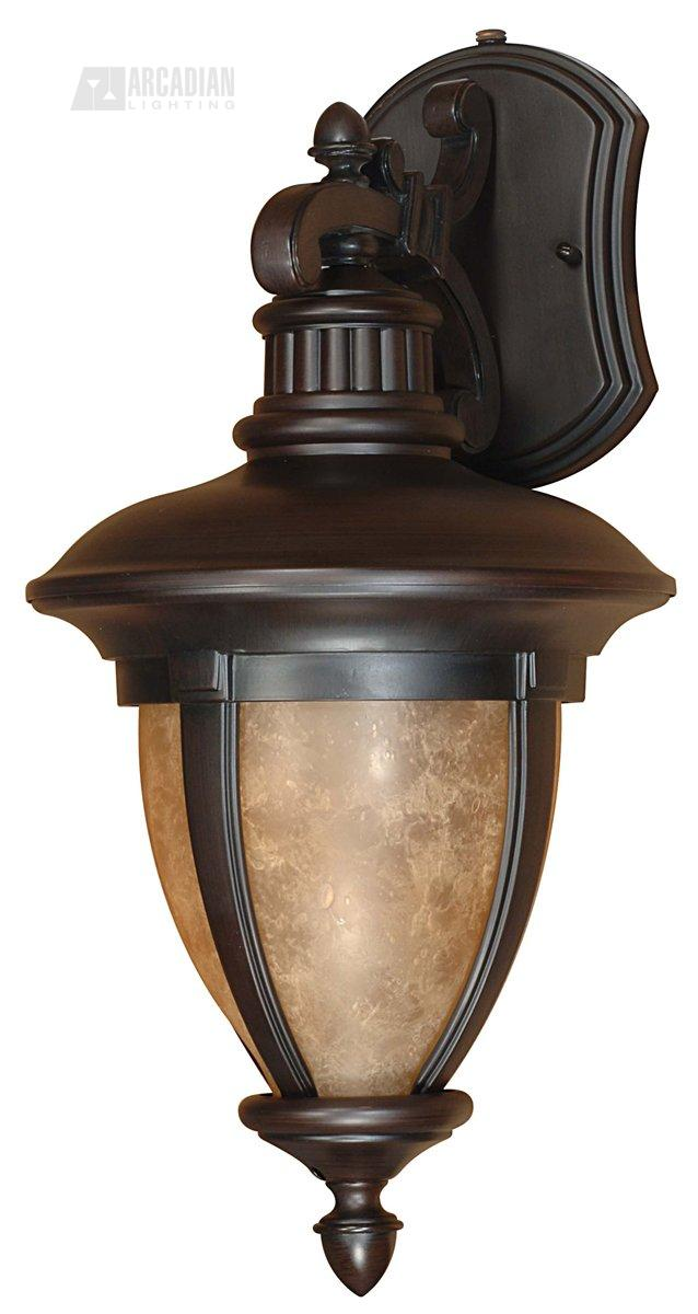 Wall Sconce With Photocell : Nuvo Lighting 60/2519 Galeon ES Energy Efficient Traditional Outdoor Wall Sconce with Photocell ...