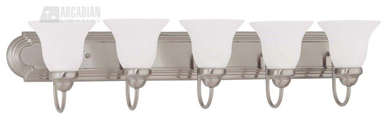 Vanity Light Bulbs Energy Efficient : Ballerina ES Energy Efficient Traditional Bathroom / Vanity Light - XVUN-5233-06