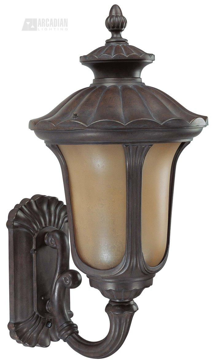 Nuvo Lighting 60/3901 Beaumont ES Energy Efficient Traditional Outdoor Wall Sconce with ...