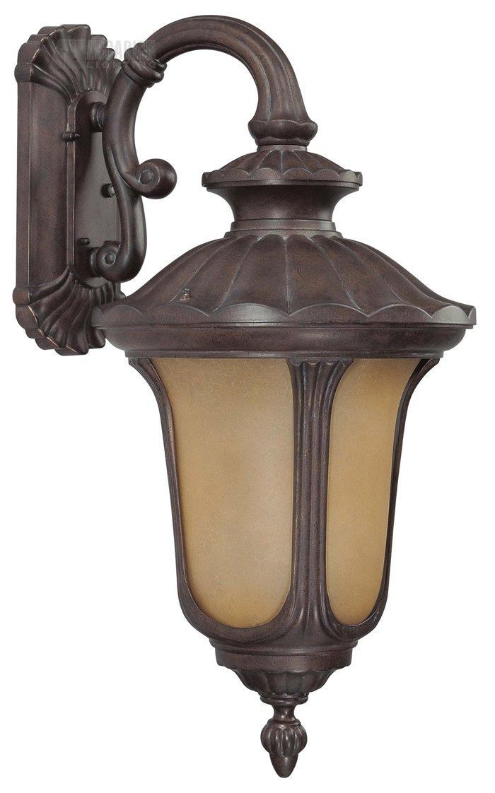 Wall Sconce With Photocell : Nuvo Lighting 60/3904 Beaumont ES Energy Efficient Traditional Outdoor Wall Sconce with ...