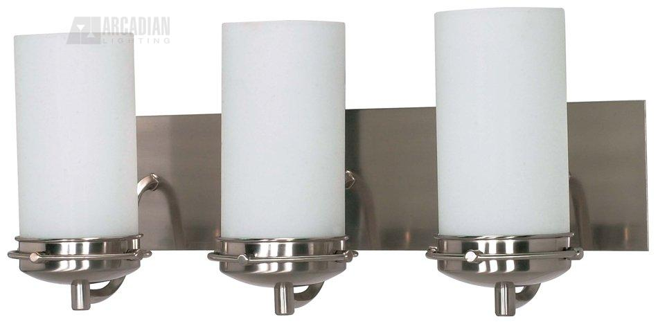 Nuvo Lighting 60/496 Polaris ES Energy Efficient Transitional Bathroom / Vanity Light NUV-60-496