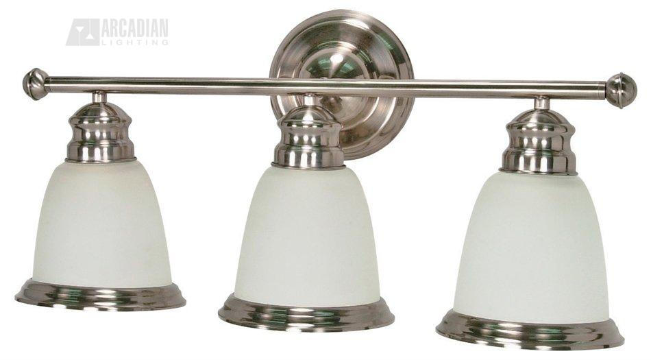 Nuvo Lighting 60/508 Palladium ES Energy Efficient Transitional Bathroom / Vanity Light NUV-60-508