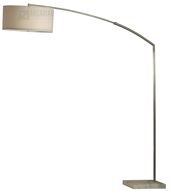 Nova Lighting 11716 Javelin Transitional Arc Floor Lamp Nv