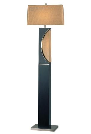 Nova Lighting 1736 Half Moon Transitional Floor Lamp Nv 1736