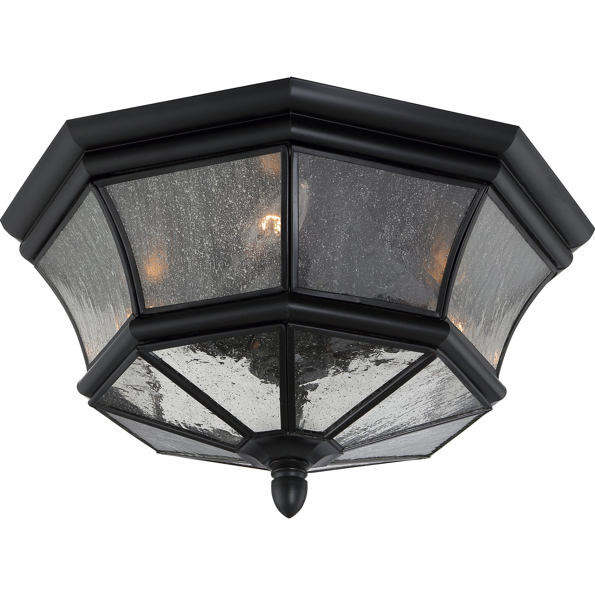 Quoizel Ny1615k Newbury Traditional Outdoor Flush Mount Ceiling Light Qz Ny1615k