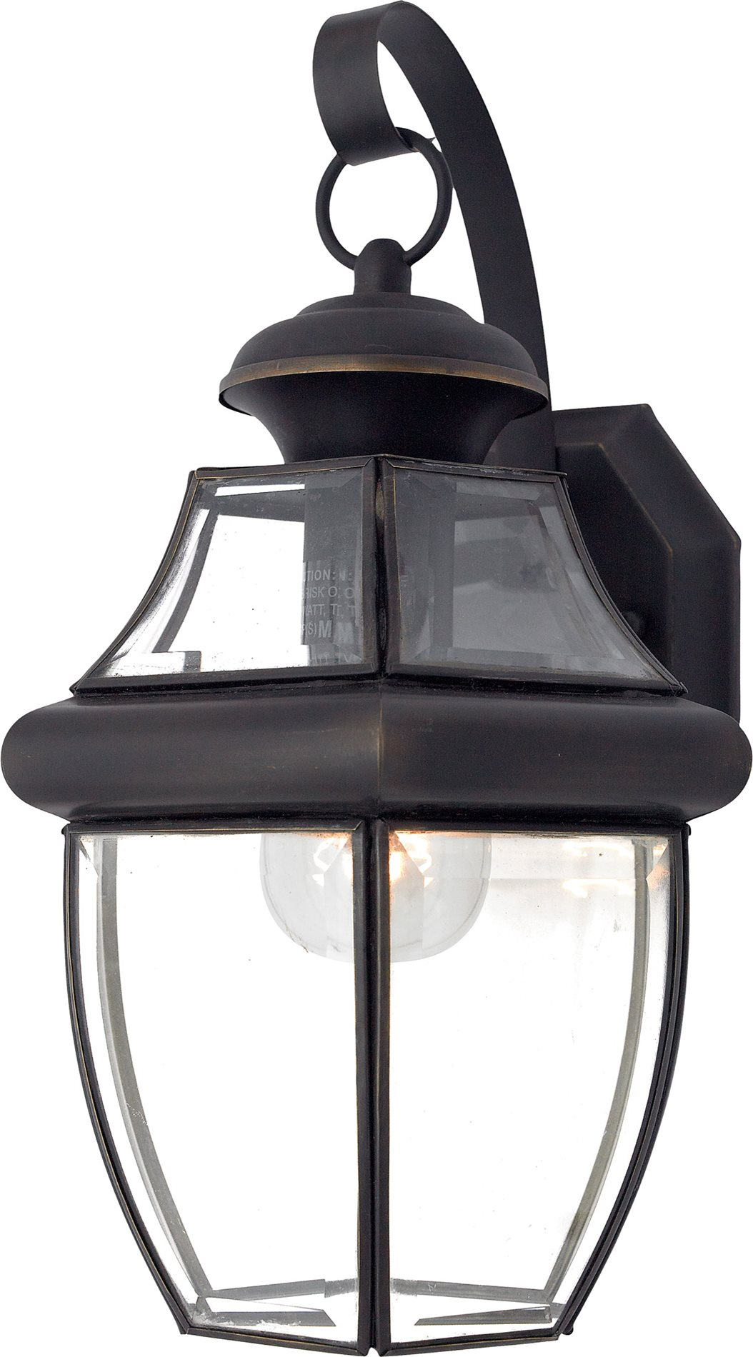 Quoizel ny8316z newbury traditional outdoor wall sconce qz - Exterior landscape lighting fixtures ...