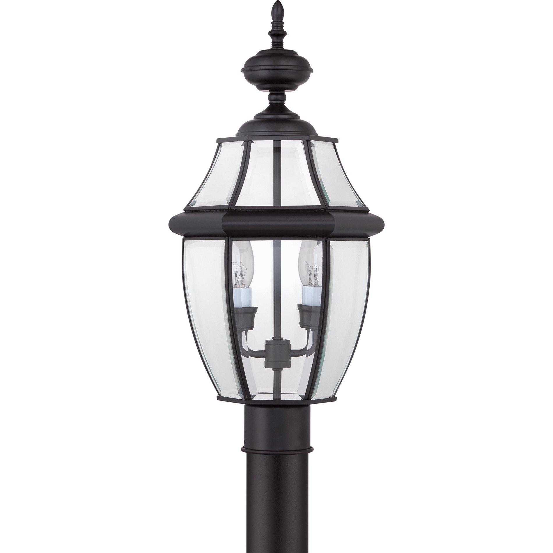 Quoizel NY9042K Newbury Traditional Outdoor Post Lantern