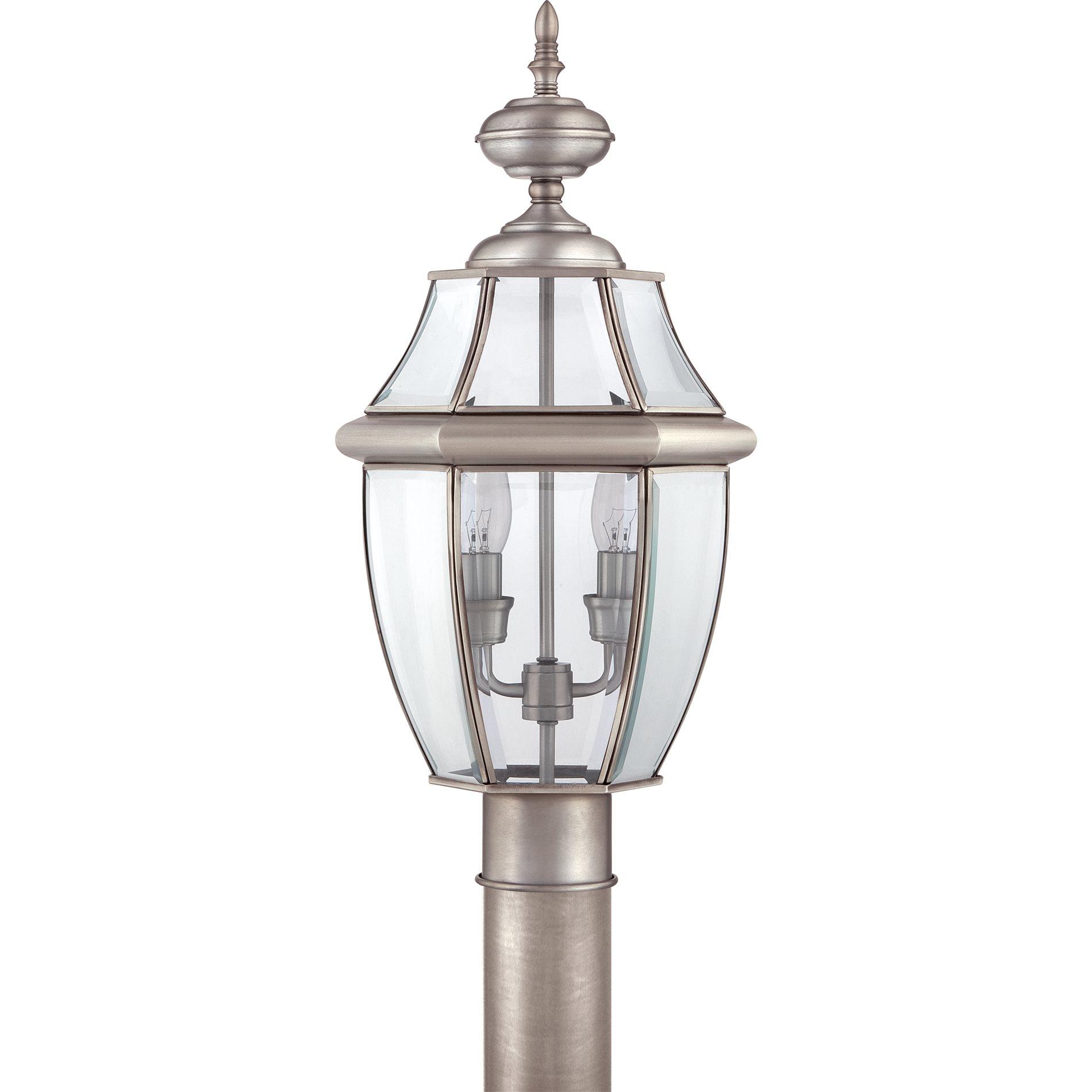 Quoizel Outdoor Lighting Newbury: Quoizel NY9042P Newbury Traditional Outdoor Post Lantern