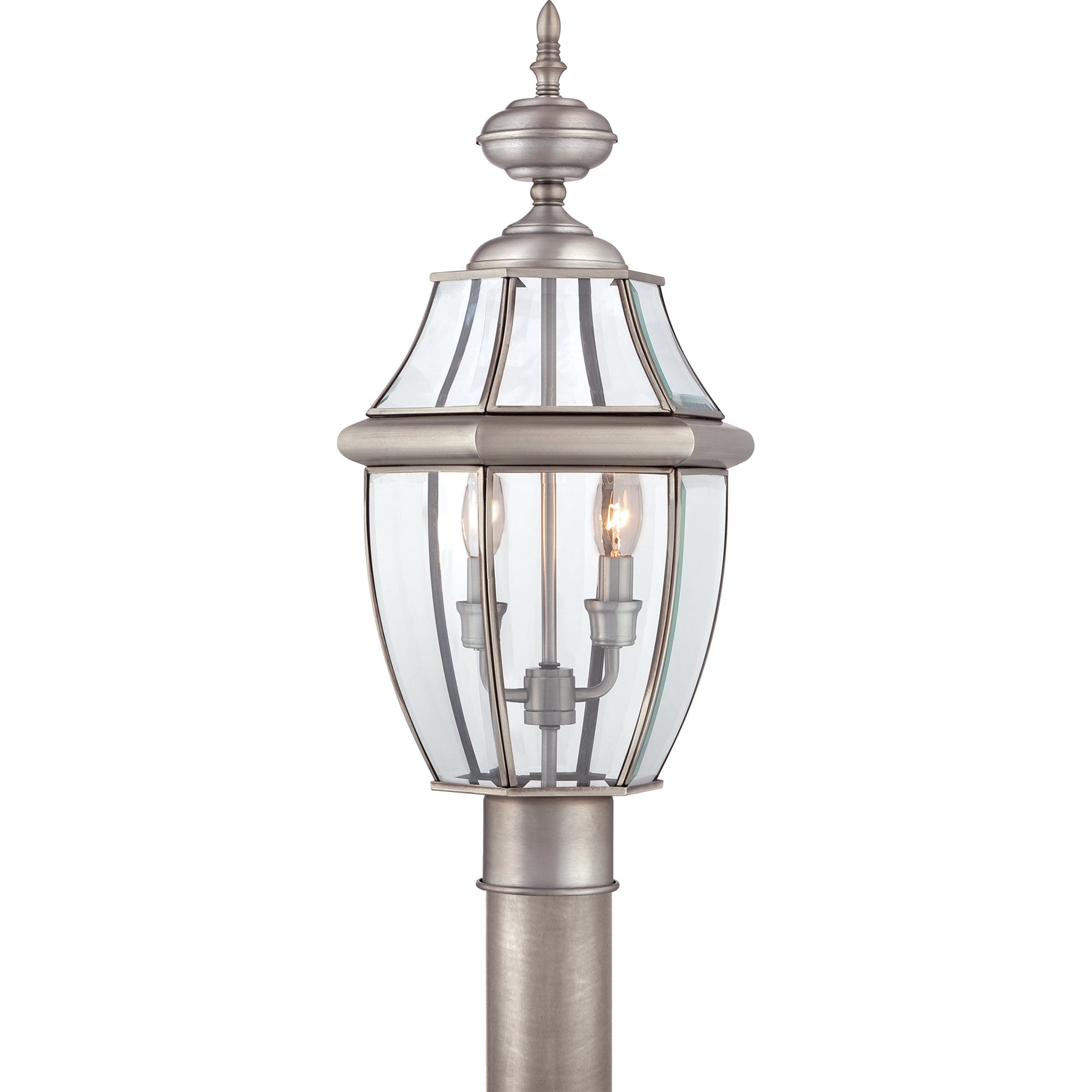 Quoizel NY9042P Newbury Traditional Outdoor Post Lantern Light QZ NY9042P