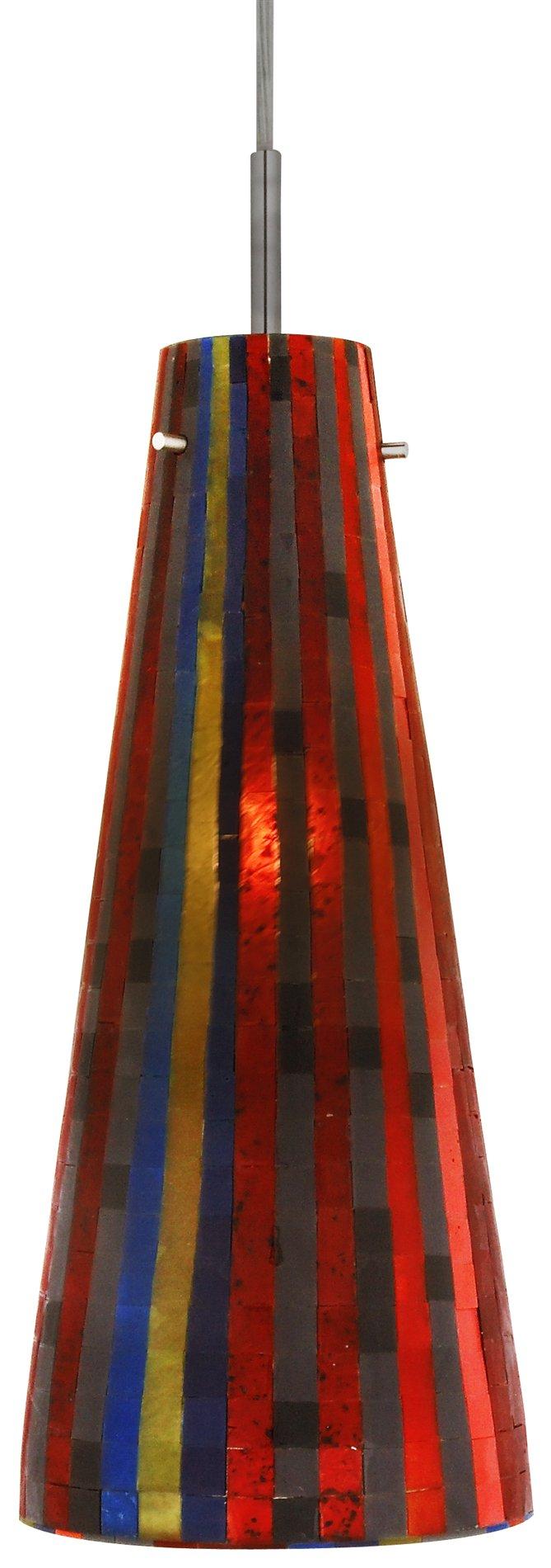 Oggetti 70 mosaic small fry modern contemporary pendant light ogt 70 2665 madison aloadofball Choice Image