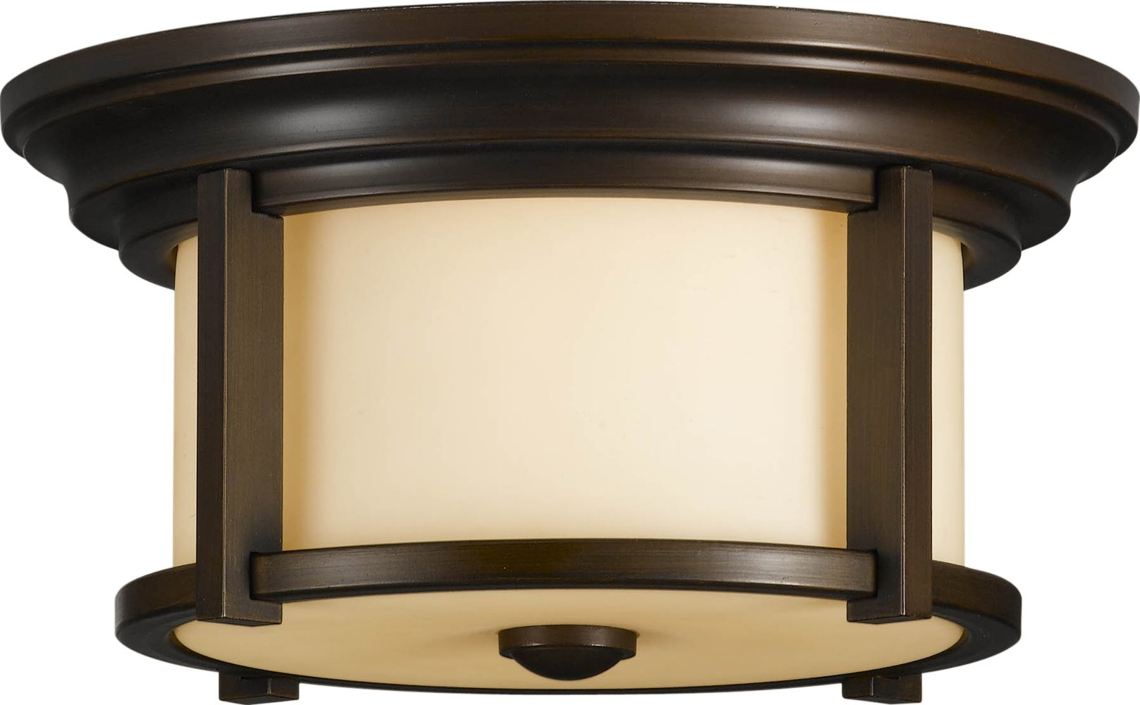 Merrill Transitional Outdoor Flush Mount Ceiling Light XFRM ZBTH 3157LO
