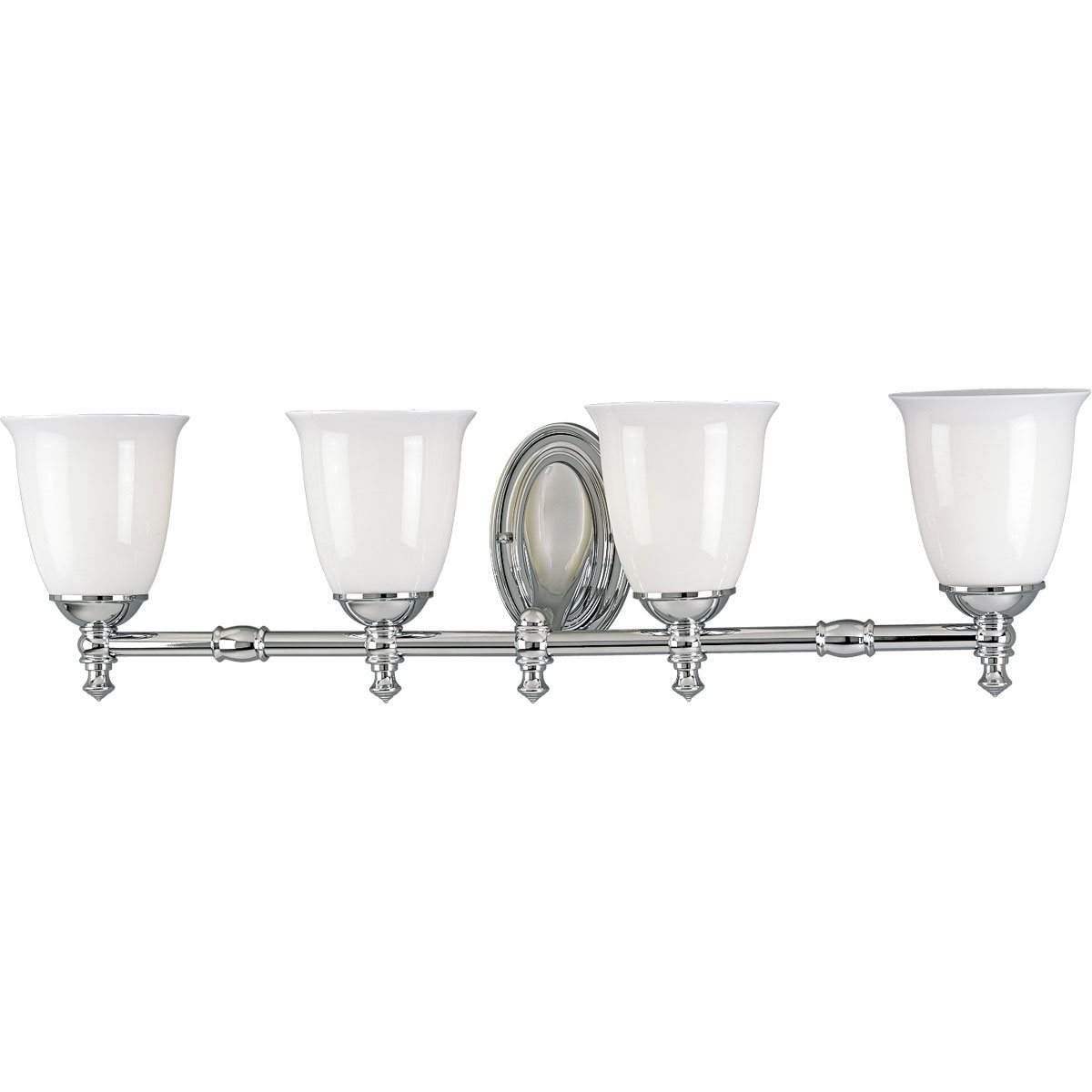 Delta P3041 Victorian Transitional Bathroom Vanity Light Pg P3041