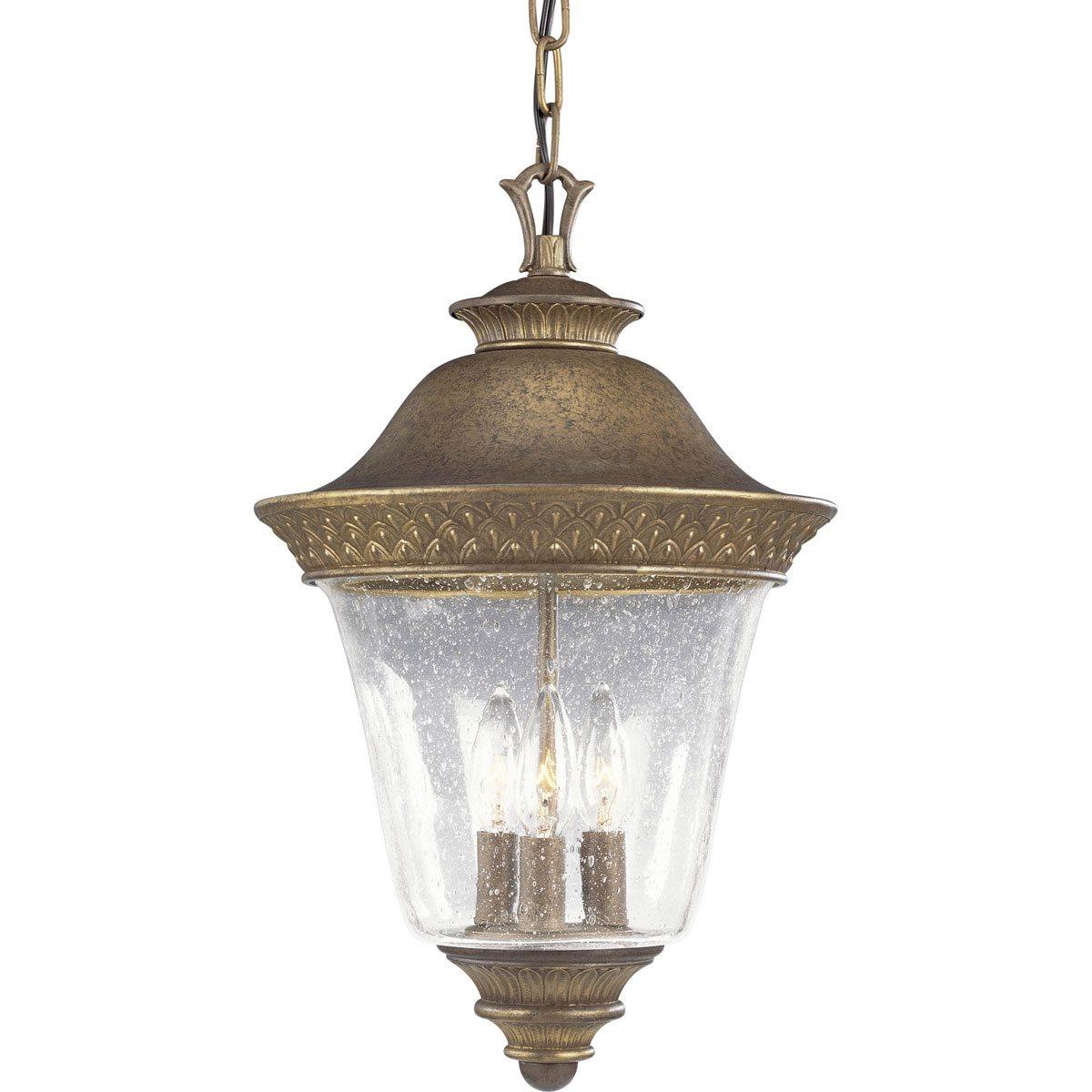 Traditional Outdoor Pendant Lighting : Progress lighting p savannah traditional outdoor