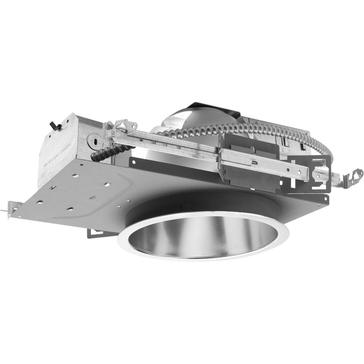 "Fluorescent Light Housing: Progress Lighting P8232-EB 8"" Compact Fluorescent Pro"