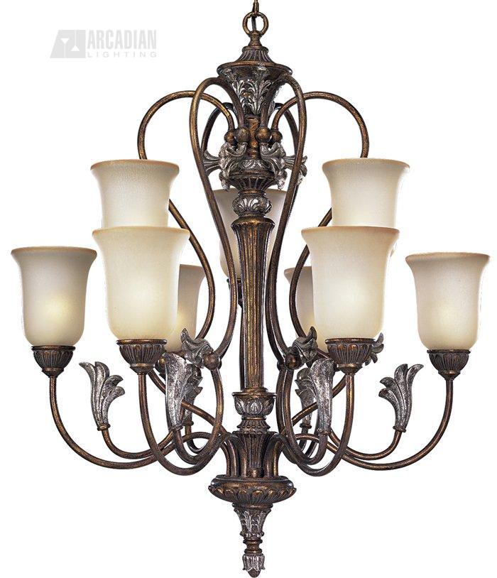 Thomasville Lighting P4087 55 Carmel Traditional 9 Light