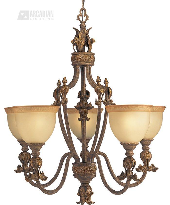 Thomasville lighting p4273 96c lafayette traditional 5 for Thomasville lights