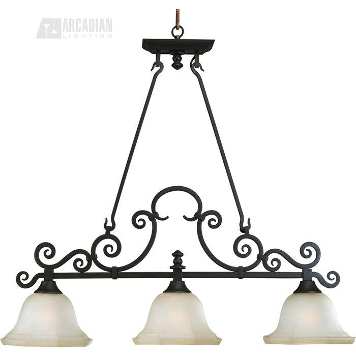 thomasville lighting p4583 guildhall traditional kitchen island billiard light pg p4583