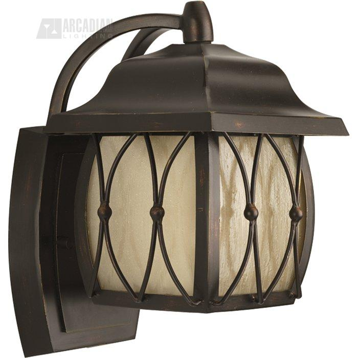 Wall Sconce With Photocell : Progress Lighting P5655-20STR Montreux Energy Efficient Transitional Outdoor Wall Sconce with ...