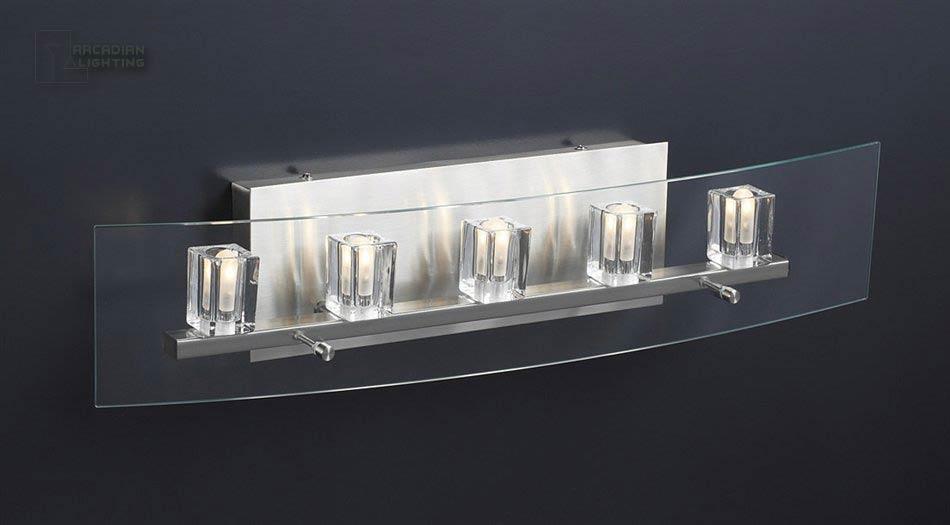 PLC Lighting 1534 SN Ice Cube Modern / Contemporary Bathroom ...