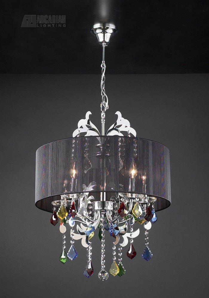 PLC Lighting 34112 PC Torcello Contemporary Crystal
