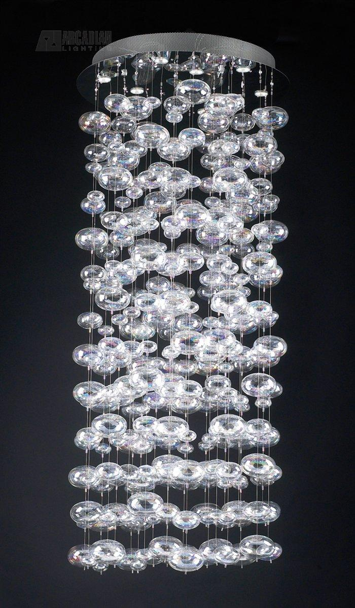 Plc Lighting 96966 Pc Bubbles Contemporary Crystal