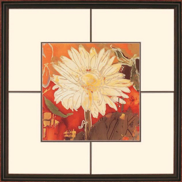 Paragon Picture Gallery 3054 Gerber Garden I Traditional Floral ...