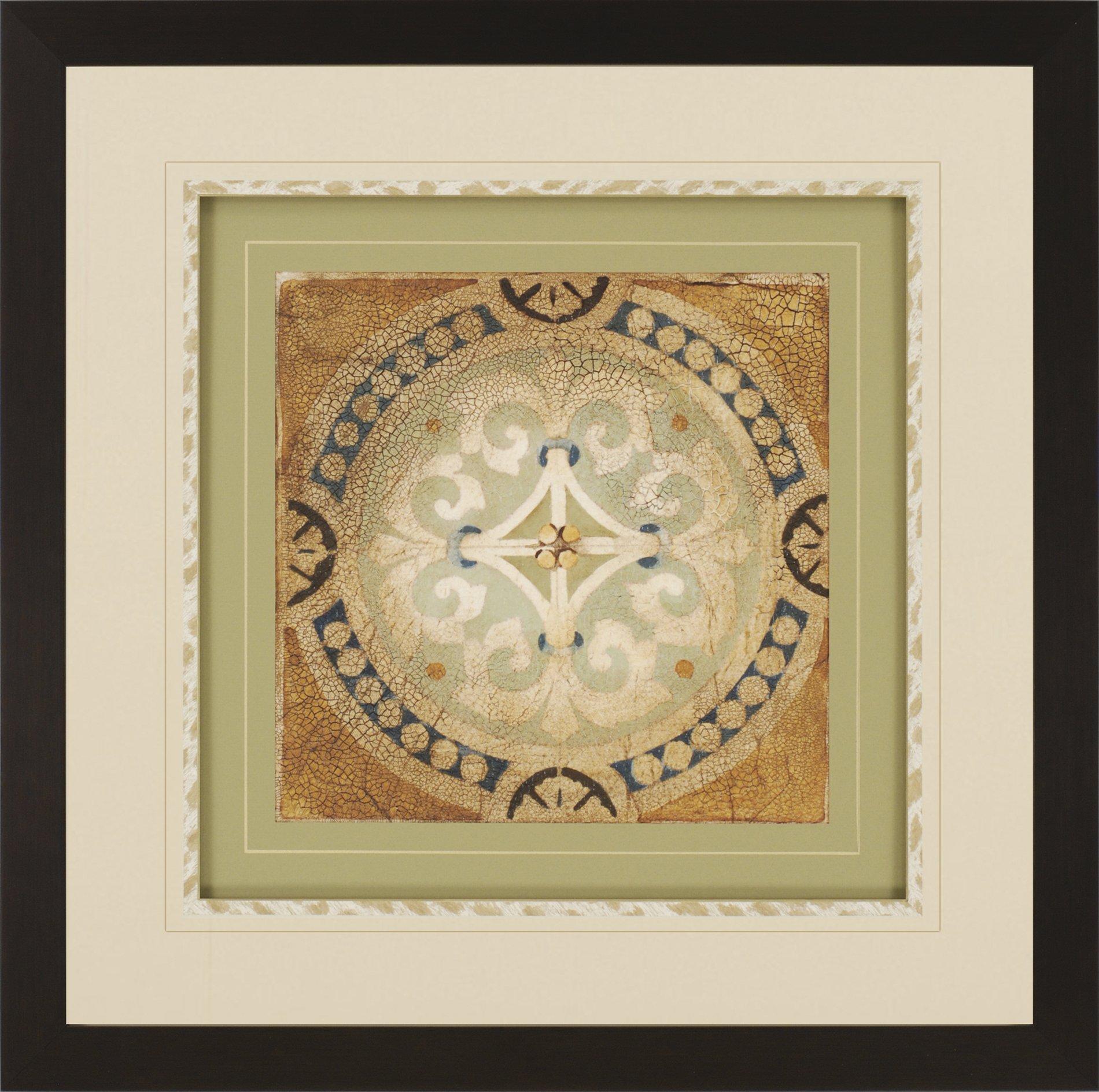 Jardine 7369 Petite Tiles Ii Transitional Framed Wall Art