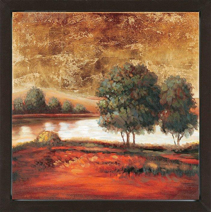 Joey Duncan 9671 Evening Solitude II Traditional Landscape Framed Wall Art  PPG 9671