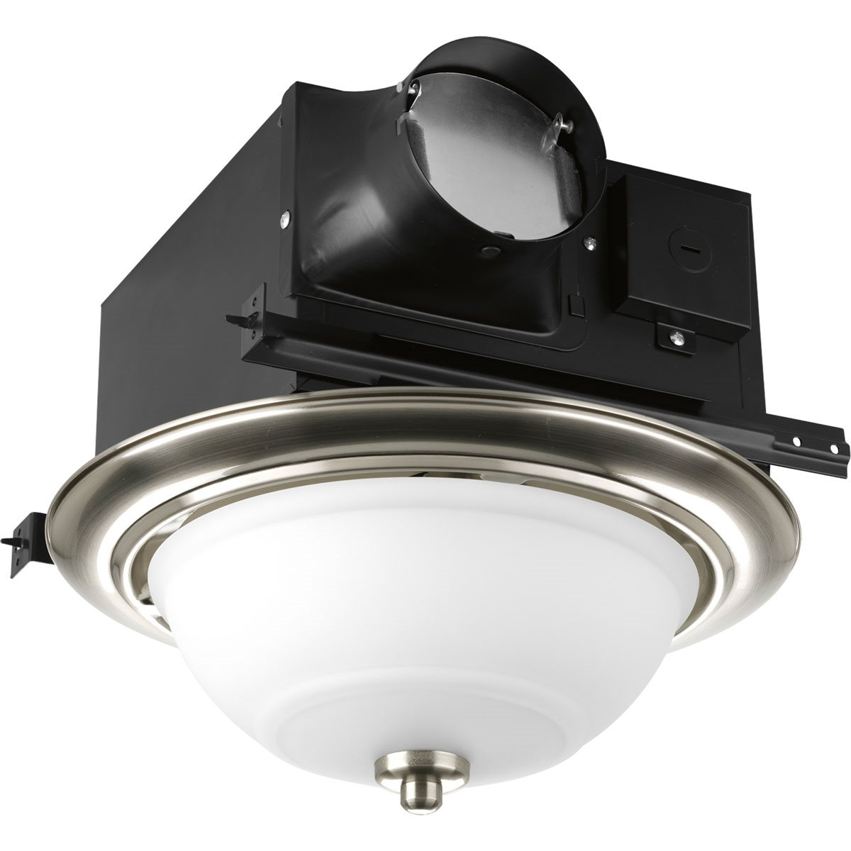 Progress Lighting Pv008 Decorative Bathroom Exhaust Fan Pg Pv008