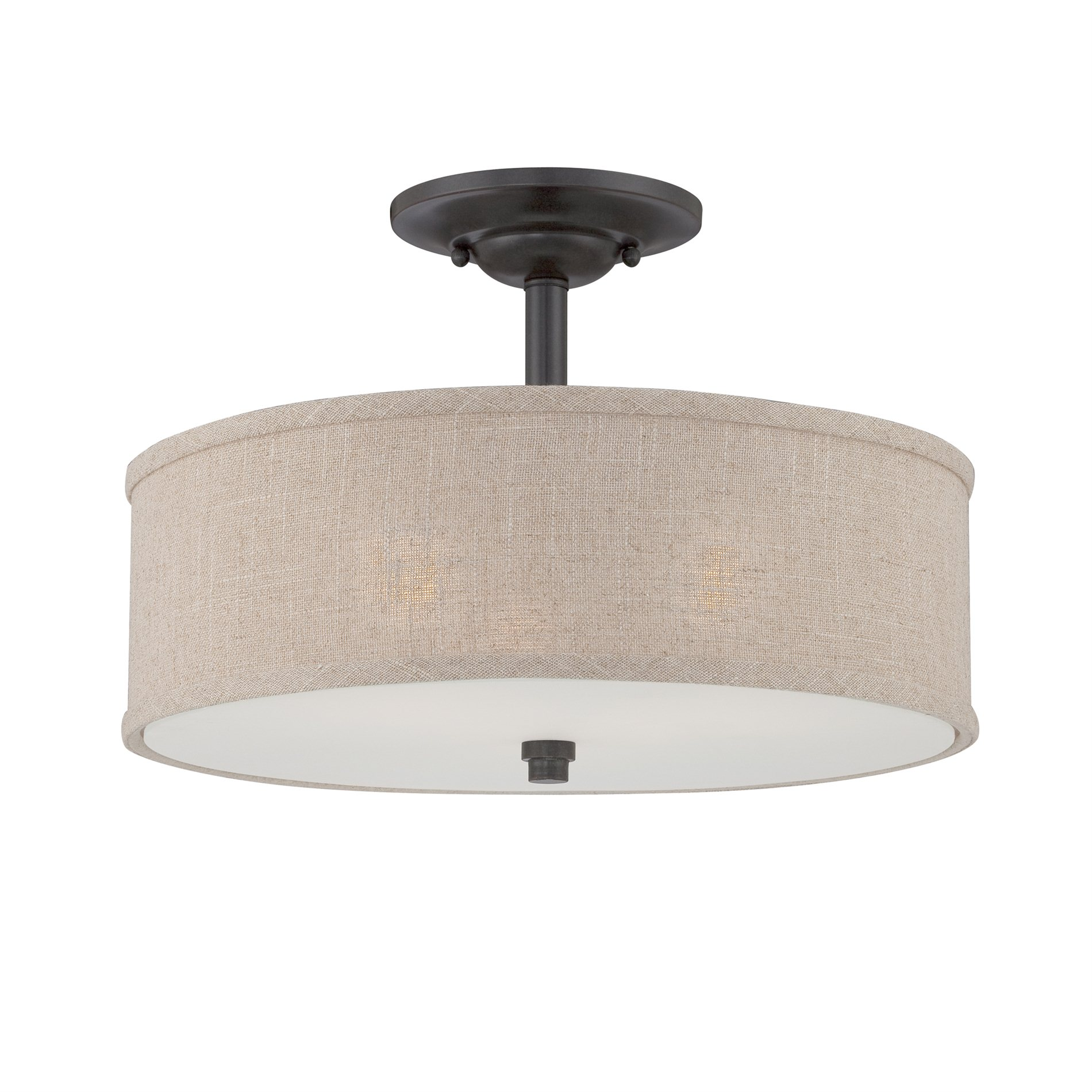 Quoizel Cra1717mc Cloverdale Semi Flush Mount Ceiling