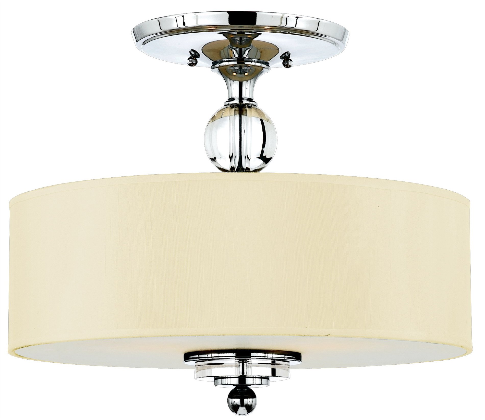 contemporary semi flush mount ceiling light qz dw1717c see details. Black Bedroom Furniture Sets. Home Design Ideas