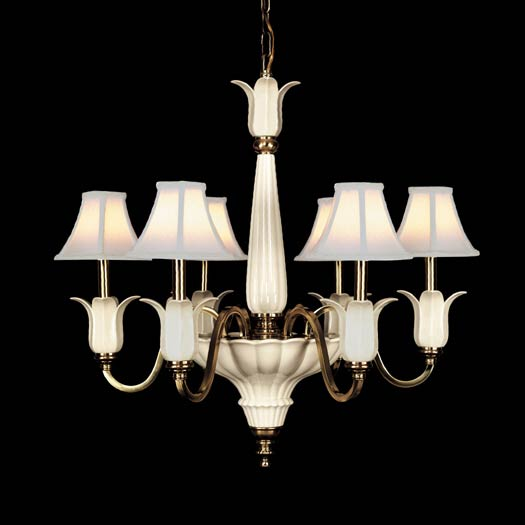 Lenox Lighting LX5044H Lenox Traditional Chandelier QZ LX5044H