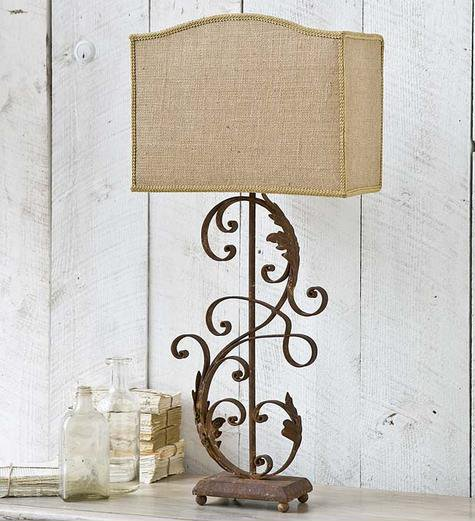 Regina andrew design 405 231 traditional iron scroll table lamp rad zoom aloadofball Images