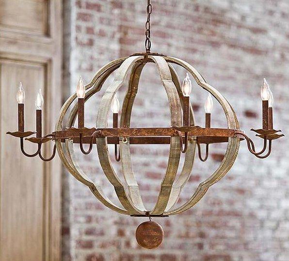 Regina Andrew Design 405701 Wooden Quatrefoil Transitional – Transitional Chandelier