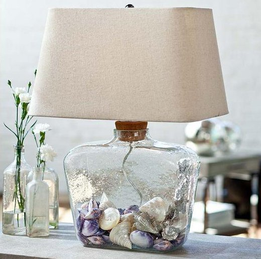 suffolk cork top fill able glass shoulder table lamp xdar 1577 44. Black Bedroom Furniture Sets. Home Design Ideas