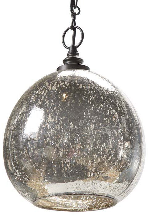 Regina Andrew Design 44 8072 Antique Mercury Glass Float