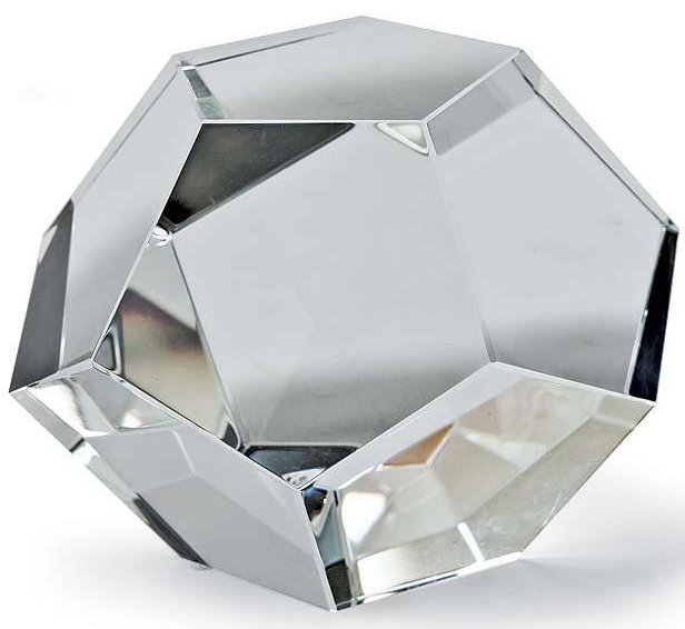 Regina andrew design 505 1067 small crystal dodecahedron for Dodecahedron light fixture