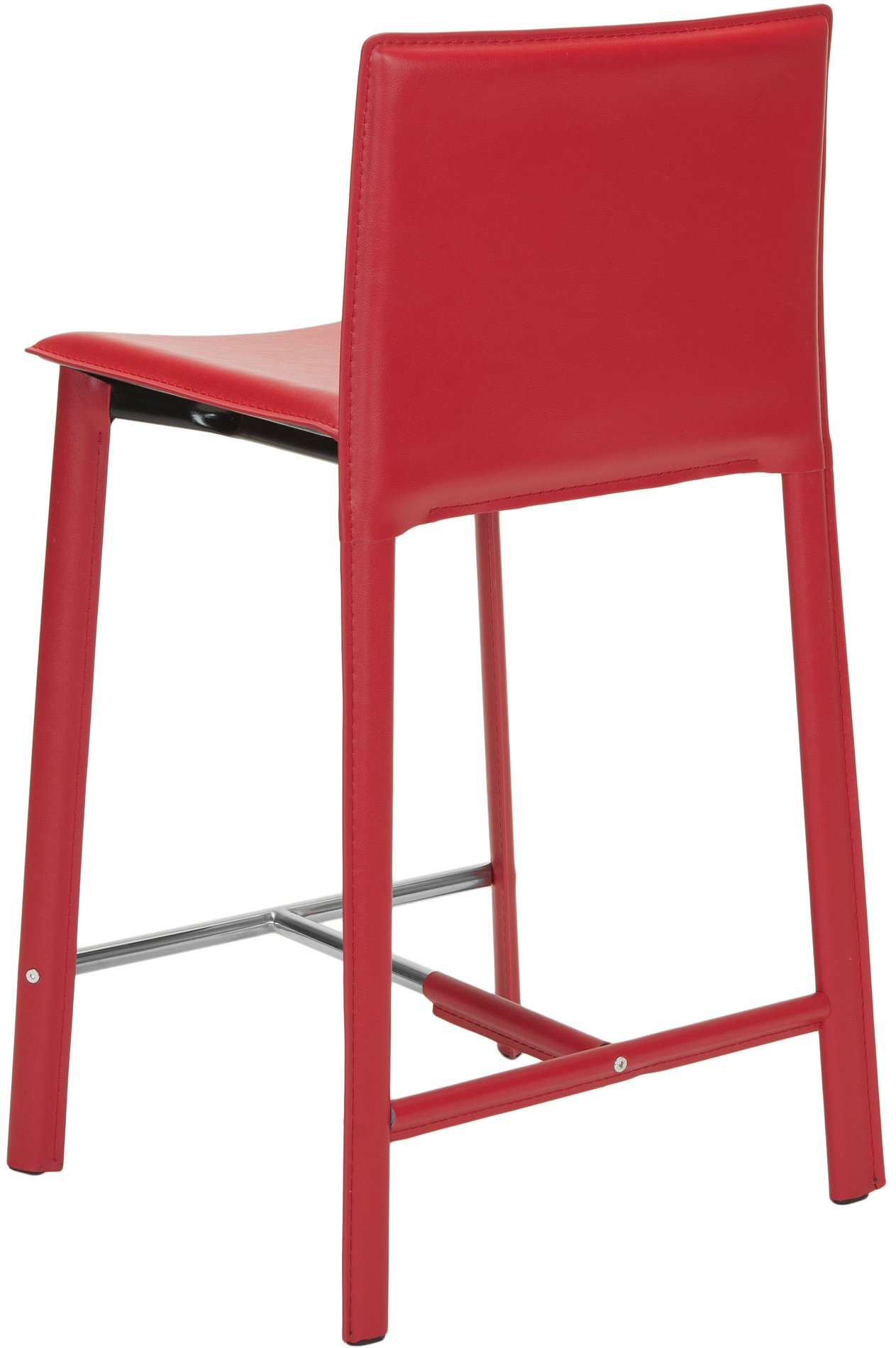 Safavieh Fox2005r Set2 Janet Red 24 Quot Counter Stool Sfv