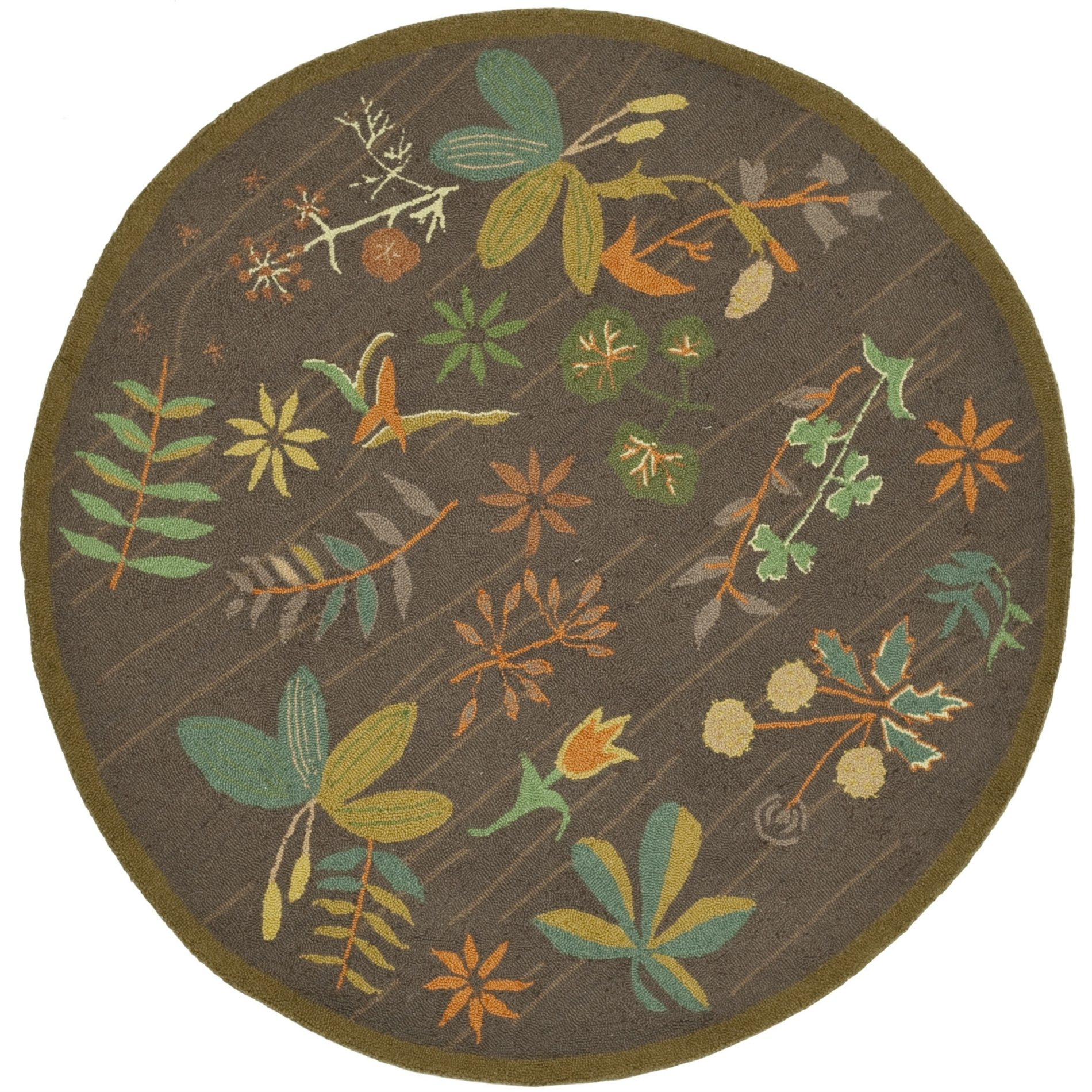 Safavieh Martha Stewart Country Floral Grove Hand Hooked Wool Rug Sfv Msr1315a See Details