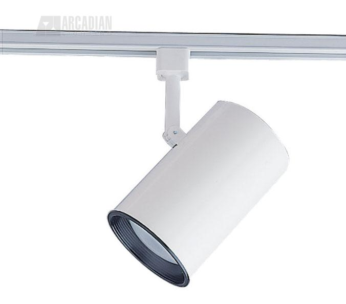 Sea gull lighting 2522 15 small white flat cylinder with for Tiny track lighting