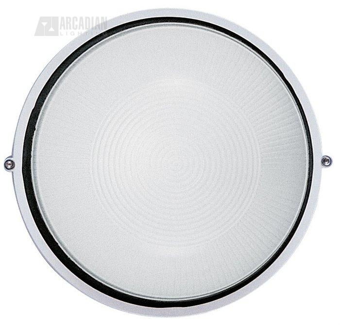 LBL Lighting SMALL-BULK-HEAD Small Round Aluminum Bulkhead Outdoor Wall Sconce SMALL-BULK-HEAD