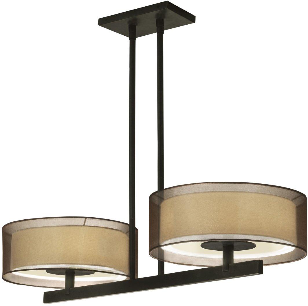 Sonneman lighting 6000 51 puri contemporary kitchen island for Contemporary kitchen island lighting