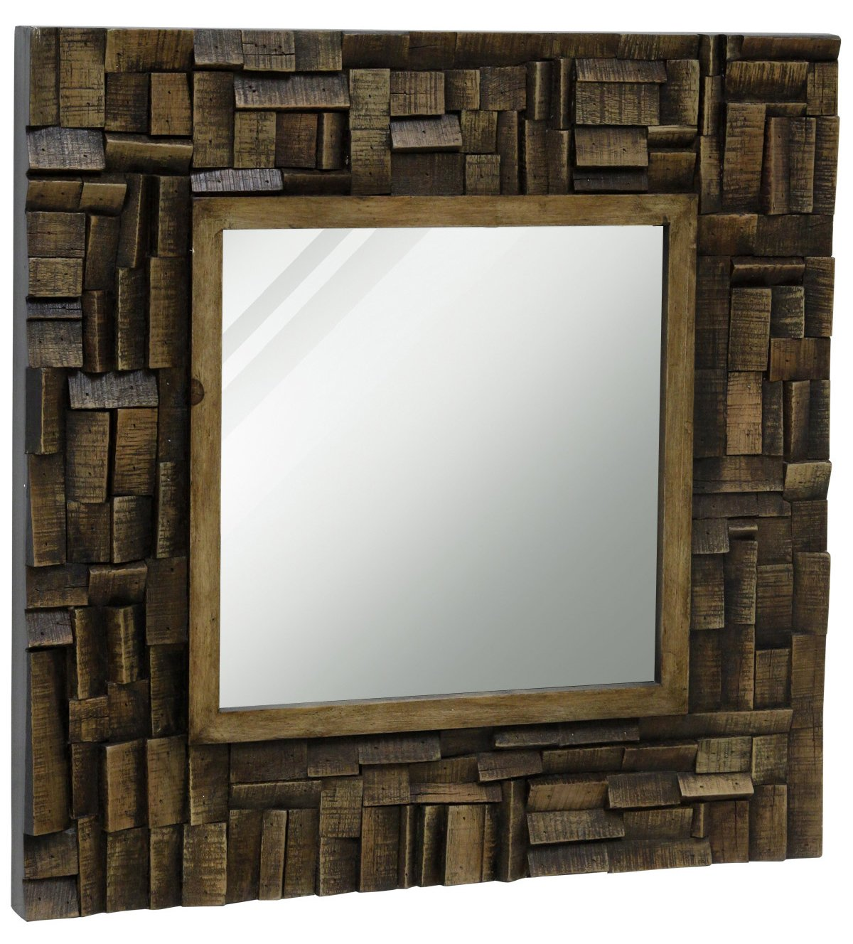 StyleCraft Transitional Wooden Mirror