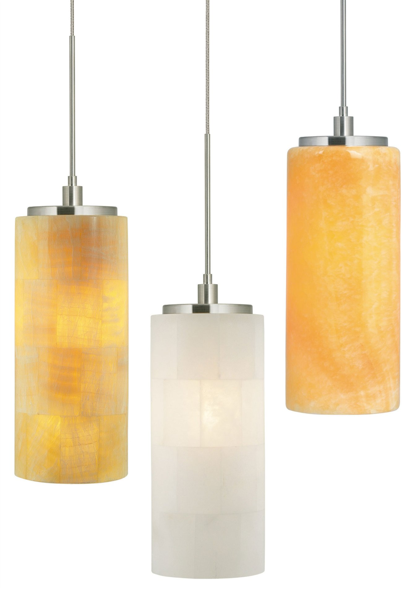 Stone Lighting PD132 Onyx Cylinder Transitional Mini