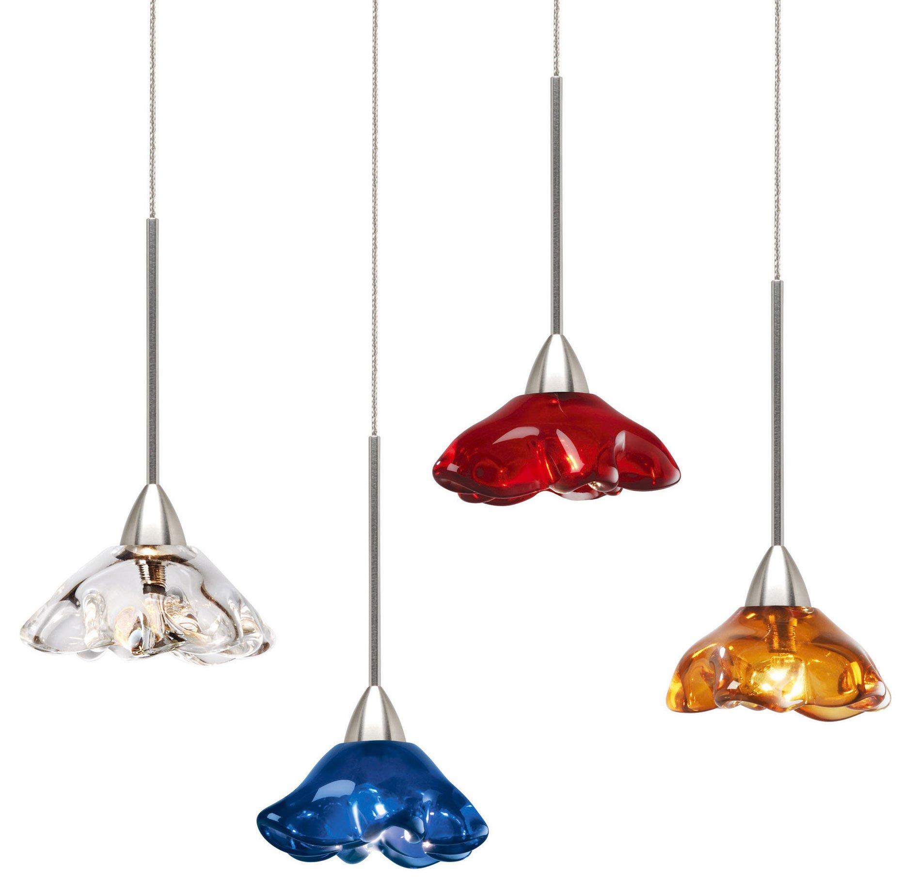 contemporary mini pendant lighting. Stone Lighting Poppy Modern / Contemporary Mini Pendant Light - STN-PD158 See Details. R