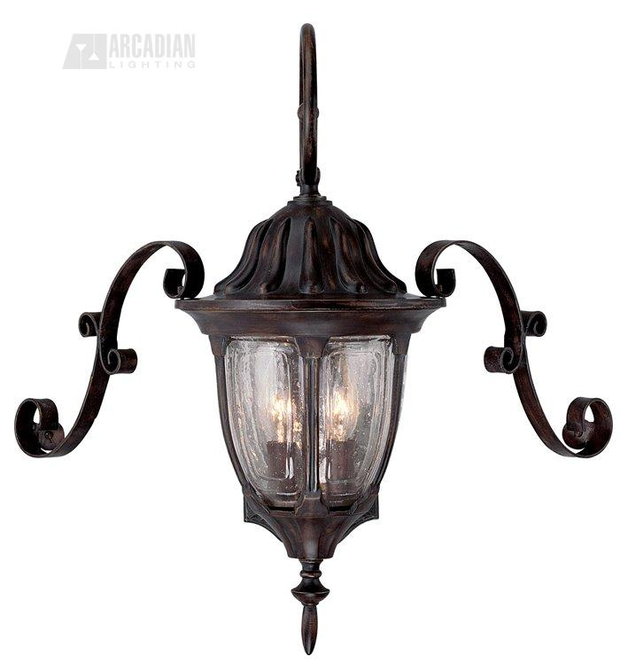 Savoy House Lighting 5 1550 M Tudor Scroll For Wall Mount