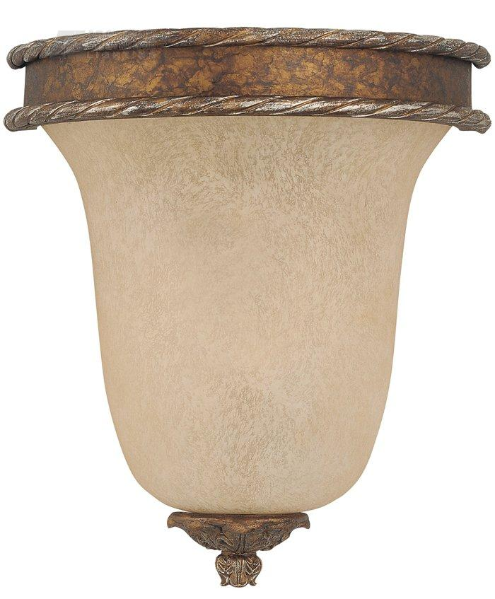 Savoy House Lighting 9-5318-1-8 Chastain Traditional Half Moon Wall Sconce SVH-9-5318-1-8