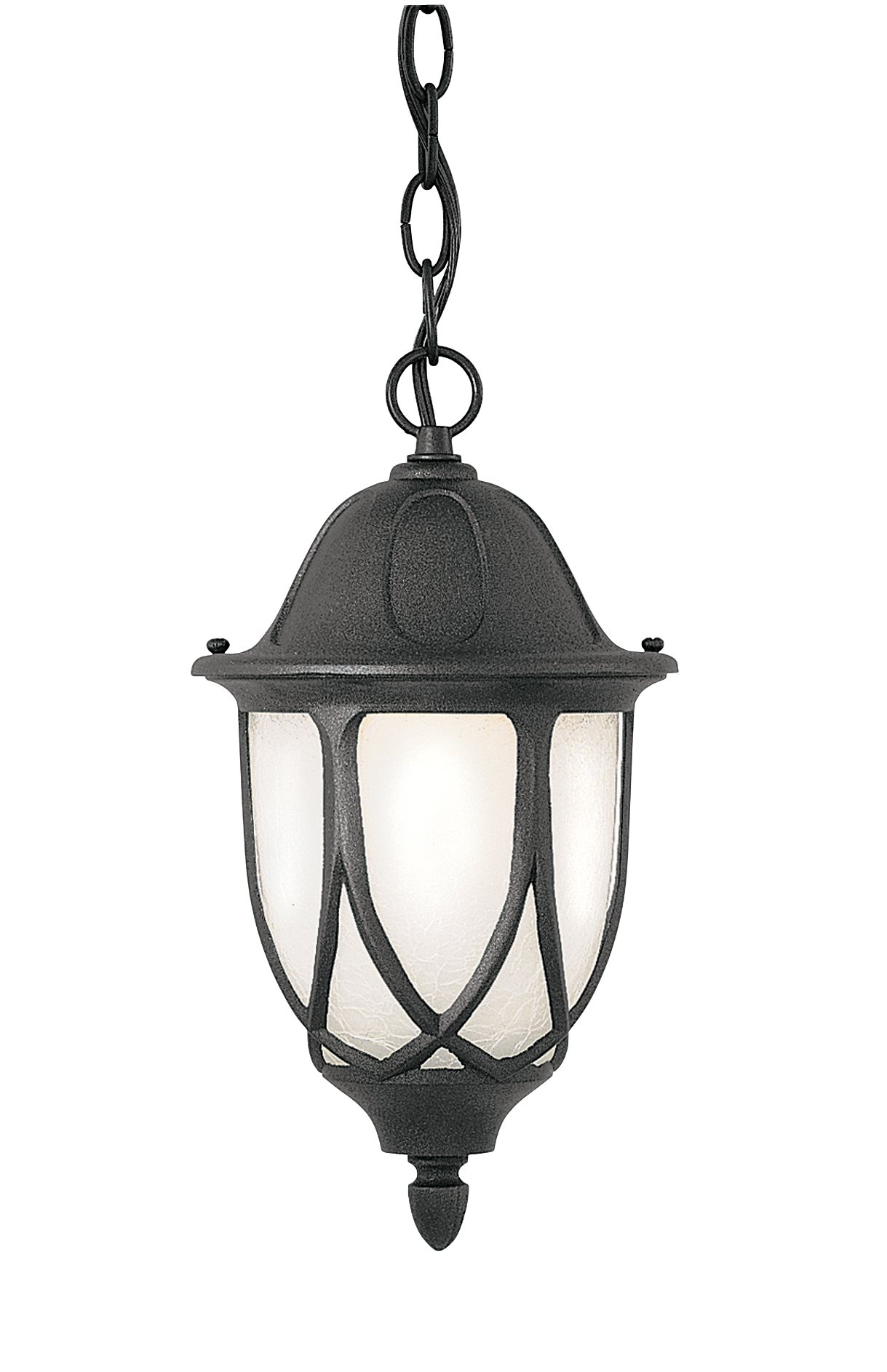 Designers Fountain T2864cfl Bk Capella Energy Efficient Traditional Outdoor Pendant Light Df