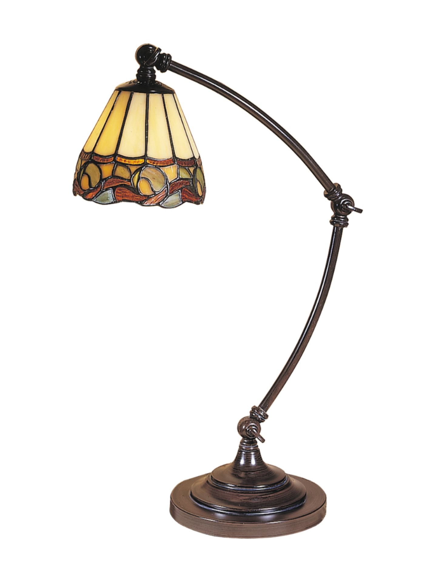 Dale Tiffany Ta100700 Ainsley Tiffany Desk Lamp Dt Ta 100700
